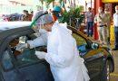 Drive thru coronavírus já realizou mais de 2 mil exames em 4 municípios de MS