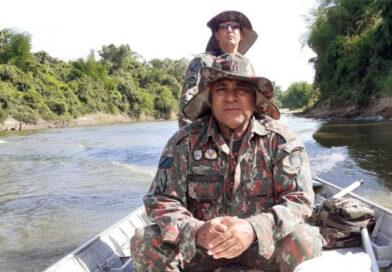 Bonito: PMA de Jardim e Bonito fiscalizam o rio Miranda e rio da Prata
