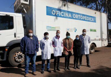 Carreta Oficina Ortopédica esteve em Ponta Porã